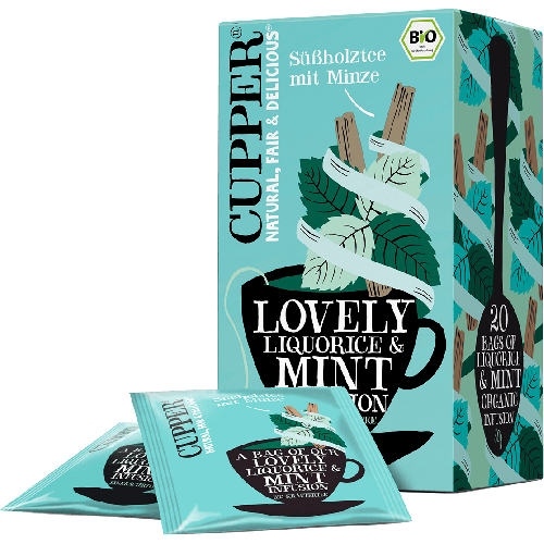 LOVELY LIQUORICE & MINT INFUSION